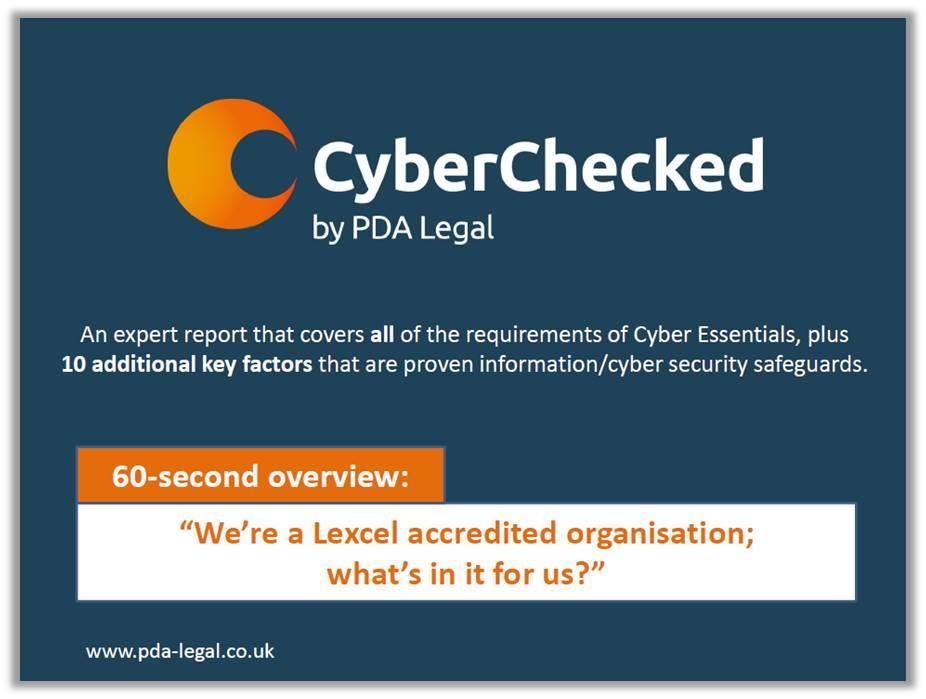 CC benefit Lexcel organisations 1
