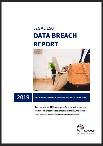 Legal top 150 data breach report cover