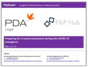 Lexcel assessment